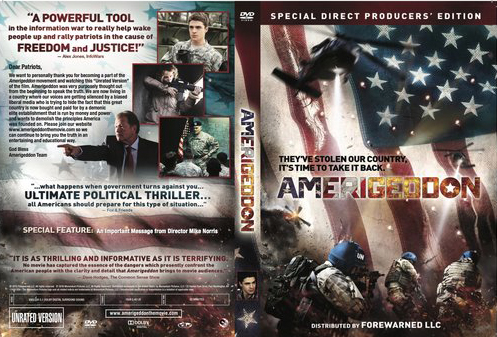 AMERIGEDDON DVD full cover