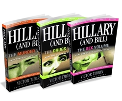 Hillary (and Bill) Trilogy, Victor Thorn