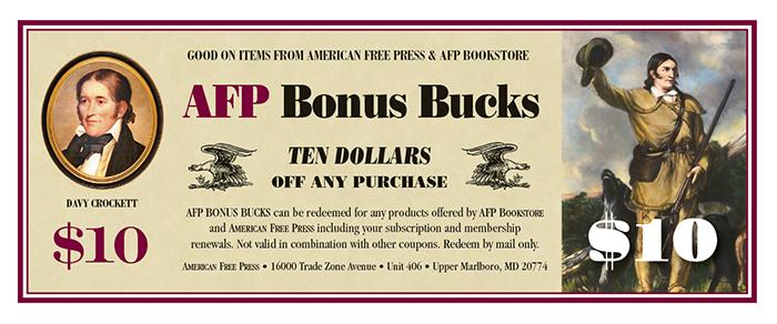 $10 Bonus Bucks