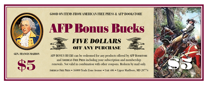 AFP $5 Bonus Bucks